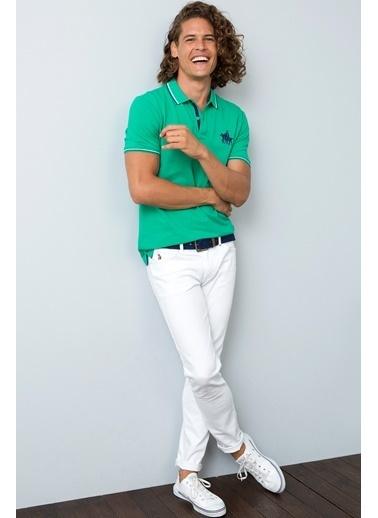 U.S.Polo Assn. Tişört Yeşil